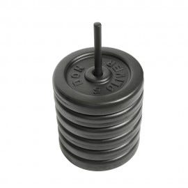 Spike Rack for 10kg Don Oliver BODYPUMP® Plates