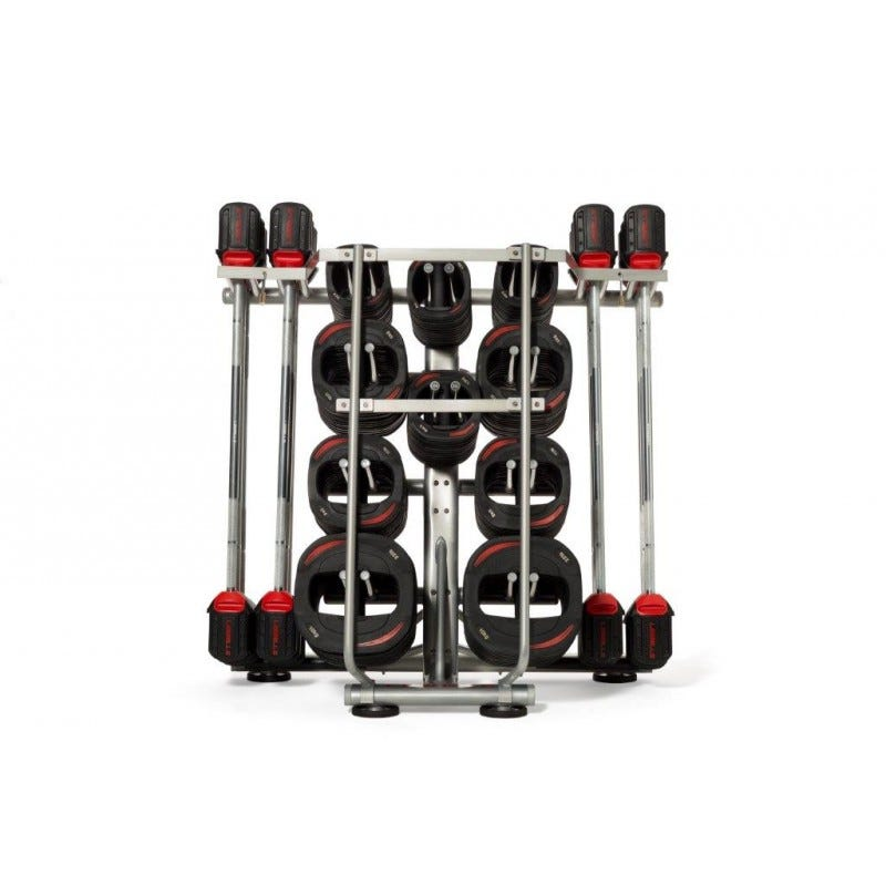 A Les Mills SMARTBAR™ locking unit