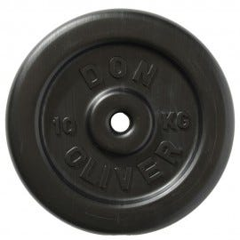 Don Oliver 10kg Plate (single) - Front View